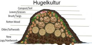 Hugelkulture Garden Bed